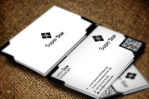 Super Star Business Card