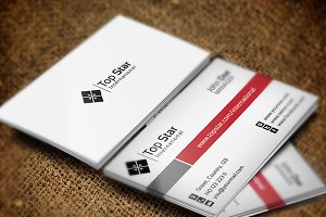 Top Star Business Card