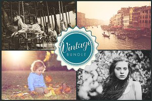 Vintage Lightroom Presets Bundle