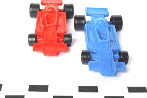 F1 toy cars