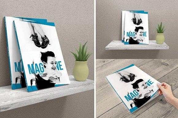 Free Magazine Mock-Ups