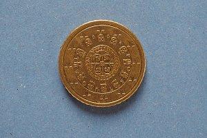 50 euro coin, European Union, Portugal
