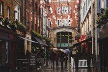 Rainy day London