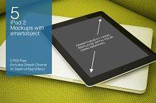 iPad2 Mockup 5 poses