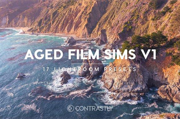 Aged Film Sims Lightroom Presets V1