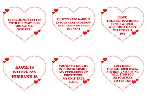 Nine Love Quotes. Set 7/26