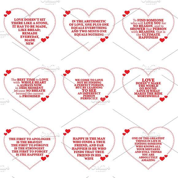 Nine Love Quotes Set 13 26