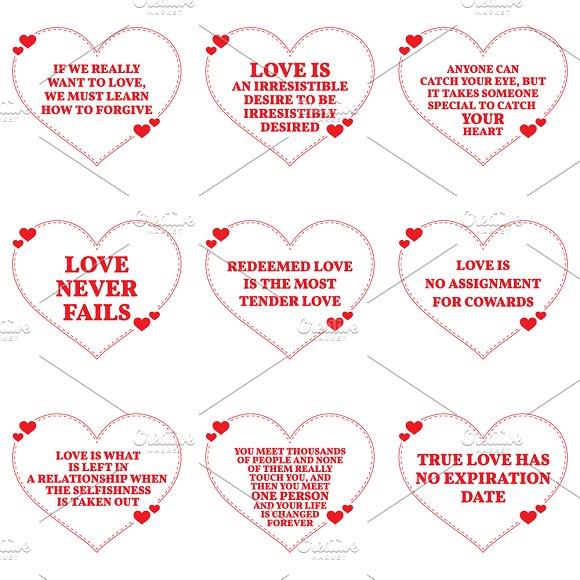 Nine Love Quotes Set 15 26