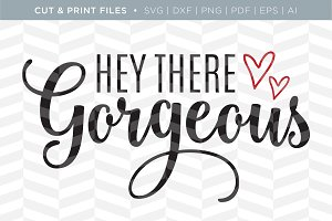 Gorgeous SVG Cut/Print Files