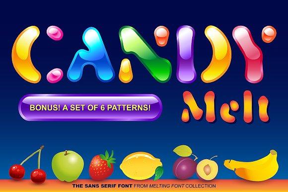 CandyMelt Sans Serif Font