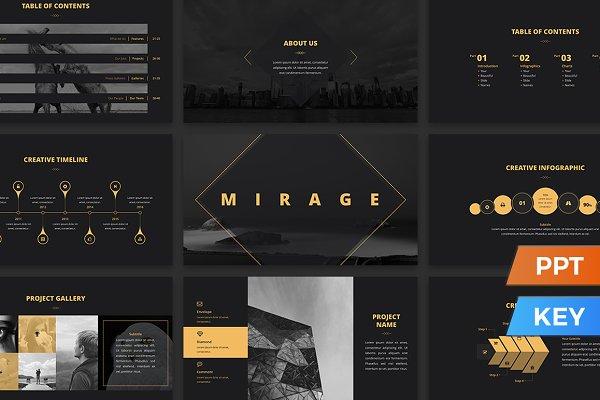 Mirage Presentation Template