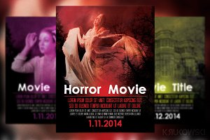 Horror Movie Poster / Flyer