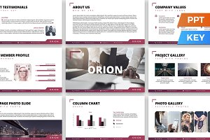 Orion Presentation Template