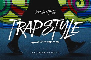 Trapstyle Font
