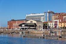 Old Port of Gijon, Northern Spain