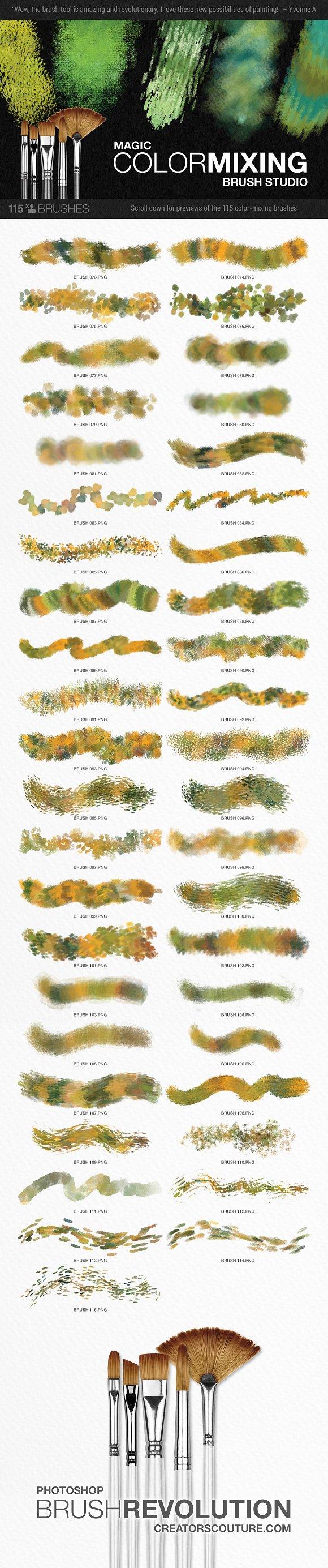 Modern impressionist ps brush studio brushes creative market baditri Choice Image