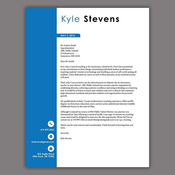 Masculine Resume Template Resume Templates Creative Market