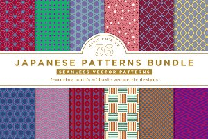 36 JAPANESE BASIC PATTERNS BUNDLE