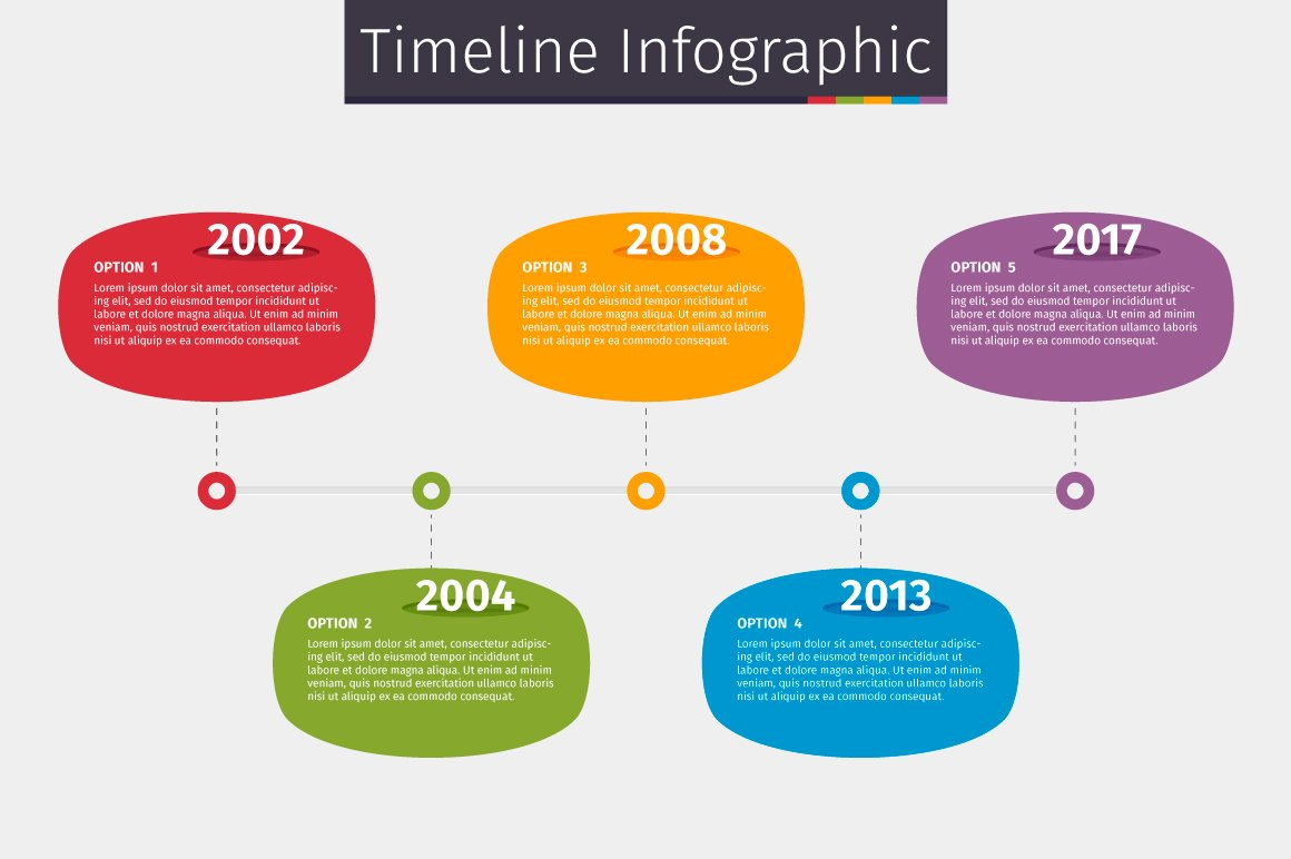 Timeline Infographic ~ Presentation Templates ~ Creative ...