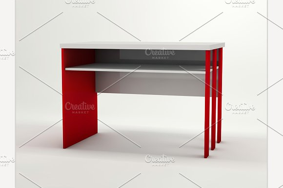 Minimalistic Designed Desk
