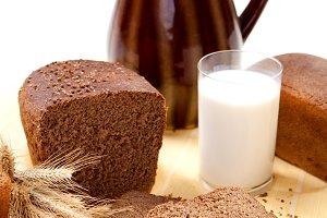Fresh brown bread