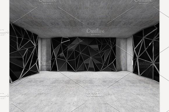 Polygonal Wall Concrete