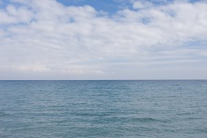 beach of the sea