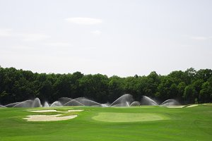 pictire of golf landscape
