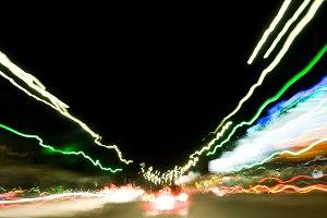 color electric line