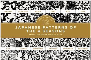 JAPANESE PATTERNS OF THE 4 SEASONS