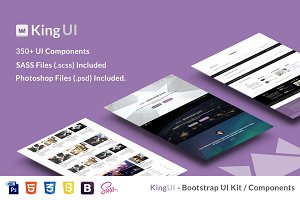 King UI - Bootstrap UI Kit