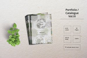 Portfolio Template Indesign Vol. 3