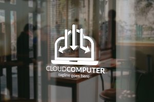 Cloud Computer Logo