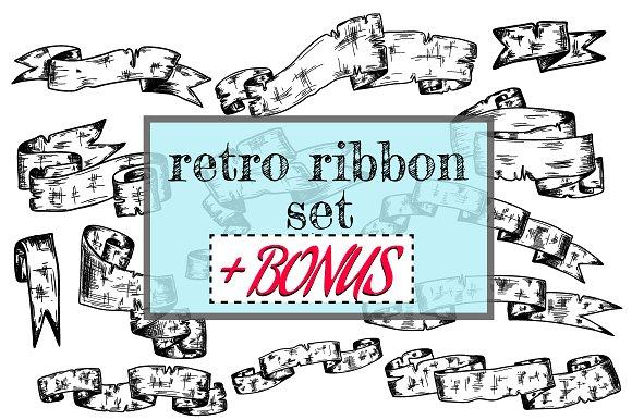 Ribbons Retro Set BONUS
