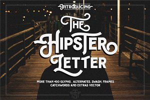 Hipster Letter + extras