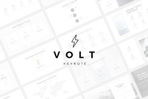 Volt Minimal Keynote Template