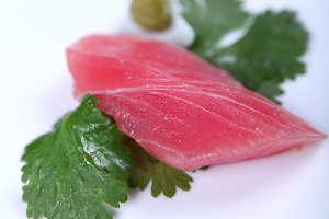 Fresh good tuna meat