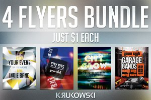 One Dollar Flyers Bundle vol. 2