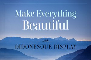 Didonesque Display - 2 Font Pack