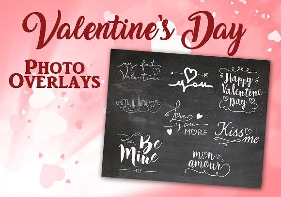Valentine's Day Photo Overlays