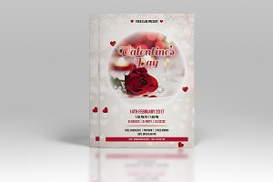 Valentines Day Party Flyer-V472