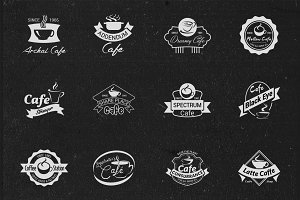 Cafe Logos, Badges or Labels