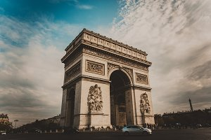 Arc of Triumph, Paris, France