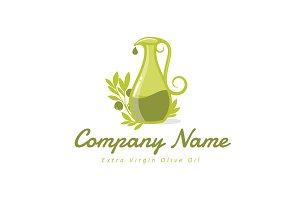 Jug of Olive Oil Logo