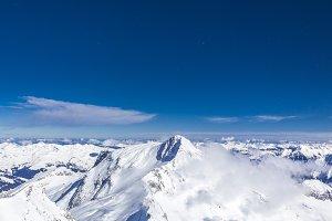 Mountain Peaks Hintertux Glacier