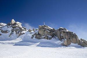 Rock Formations Hintertux Glacier