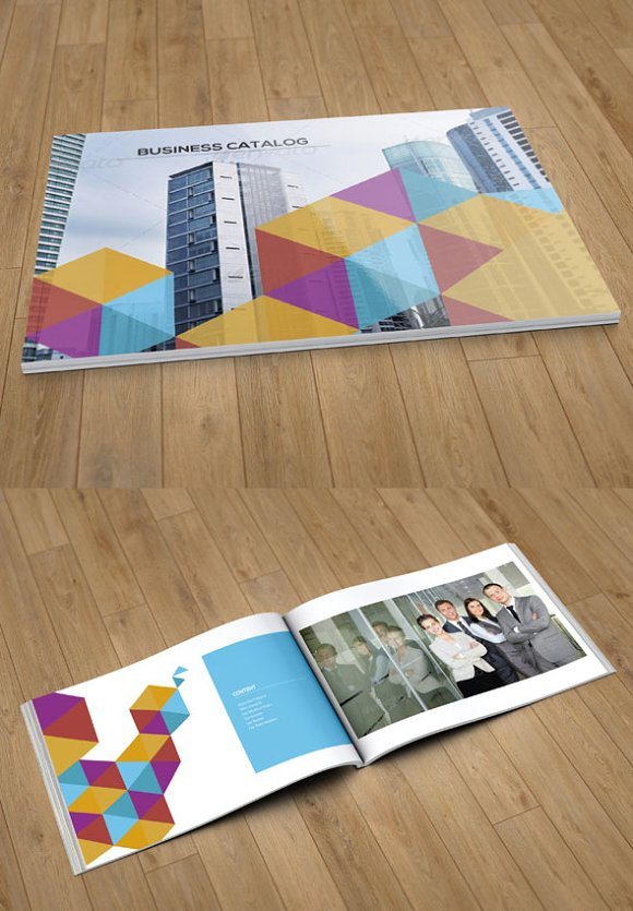 business catalog template 12page v57 brochure templates creative