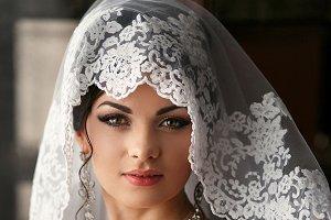 Bride in the room