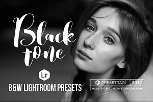 Blacktone B&W Lightroom Presets