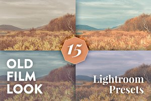 Old Film Look – 15 Lightroom Presets